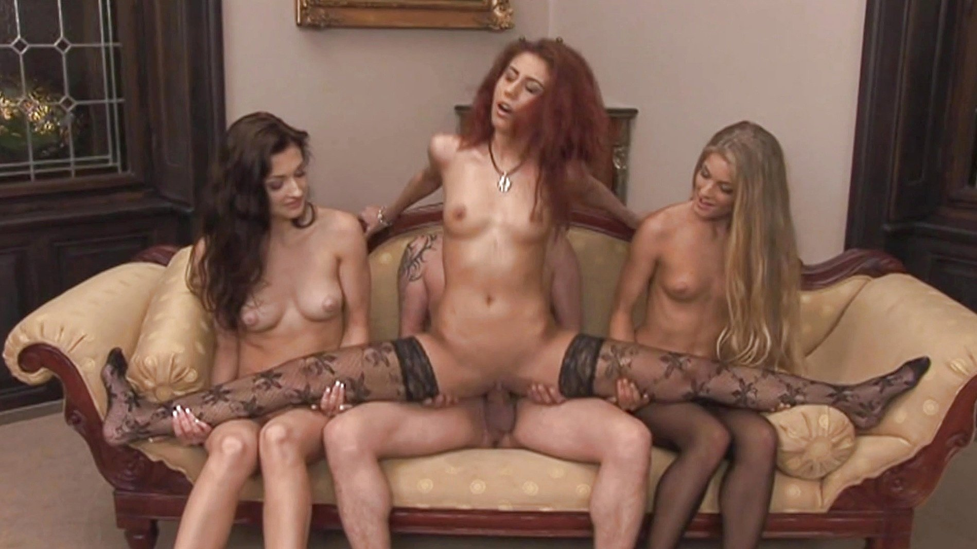 Three naked girls showering gif