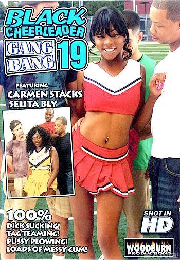 Black Cheerleader Gangbang