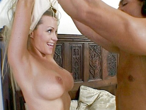 Big tits blonde euromilf esther heart goes in for bbc