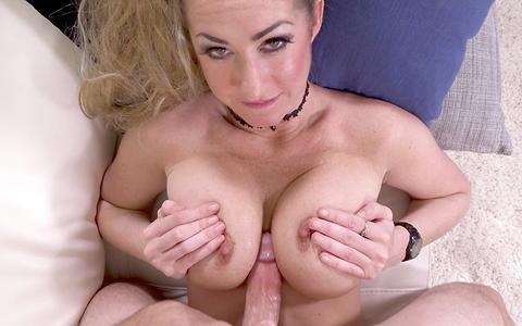 Janna Hicks loves having cock between her massive tits