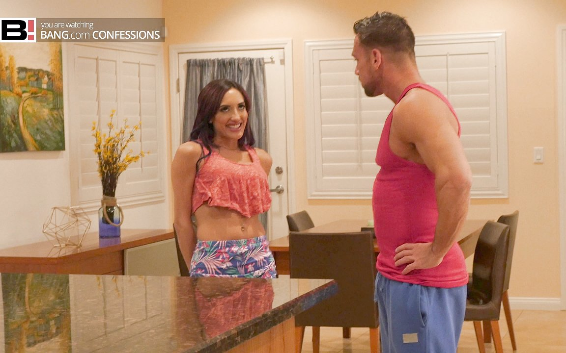 BangConfessions – Seduces Her Personal Trainer In The Kitchen – Chloe Amour