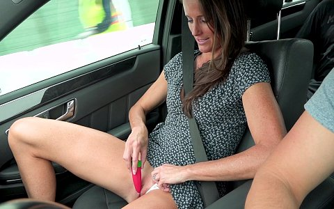 Sofie Marie gets fucked on camera while her husband watches