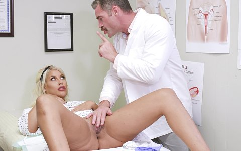 Bridgette B gets a prescription of dick at the doctor's office