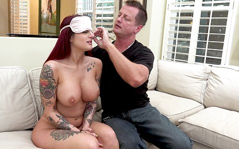 Tana Lea gets wagered away in a poker game for her first-ever gangbang!