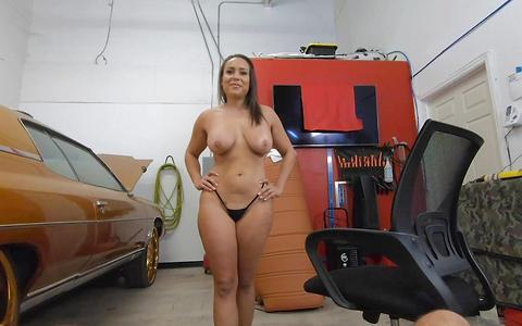 Carmela Clutch shifts her pussy into high gear