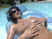 Jamie Rae pool tit video