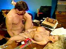 Big tits vintage star Wendy Whoppers sex scene